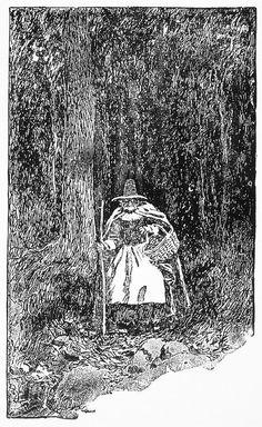 A Salem Witch, 1692 Photograph  - A Salem Witch, 1692 Fine Art Print