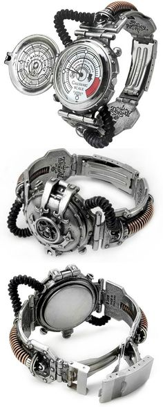 Steam-Powered Entropy Calibrator Watch - rare mid-Victorian invention ..errr.. maybe.