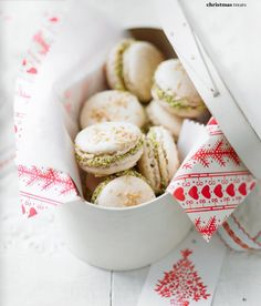 french macarOns with salted nut caramel