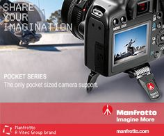 Save 10% on Any U.S.  Order - Now at Manfrotto.us! Use Code Save10 At Checkout! Click Here!