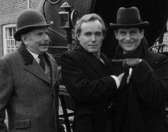 Oh!  Perhaps the pointing is mandatory.  Jeremy Brett as Sherlock Holmes... viaThe Three Gables