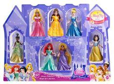 Disney Princess Little Kingdom Magiclip 7-Doll Giftset