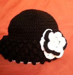 handmade crochet hat Projects To Try, Crochet Hats, Beanie, Handmade, Knitting Hats, Hand Made, Beanies, Craft, Handarbeit
