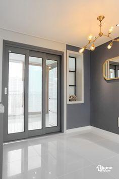 47py 대전 노은동 열매마을 8단지 새미래 40평대 아파트 인테리어 : 네이버 블로그 Decoration, Entrance, Bathtub, Windows, Flooring, Living Room, Interior Design, Mirror, Furniture