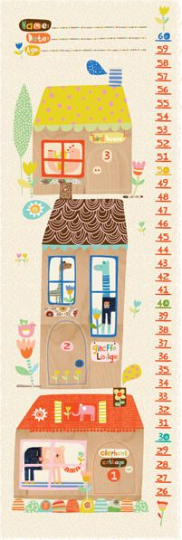 Ecojot - Growth Chart, $14.00 by Green Genes