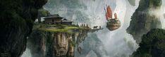 https://nkabuto.deviantart.com/art/The-flying-monastery-493800214