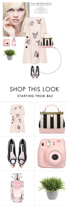"""""""Look 3 ( 03 / 12 / 2016 )"""" by aneetaalex ❤ liked on Polyvore featuring Dolce&Gabbana, Alice + Olivia, Elie Saab and Ethan Allen"""