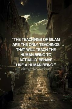 Teaching of islam
