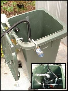DIY Automatic Grey Water Recycler This is one of the coolest DIY water systems I have ever seen Homestead Survival, Survival Skills, Survival Weapons, Survival Shelter, Survival Prepping, Survival Gear, Grey Water Recycling, Water Collection, Rain Barrel