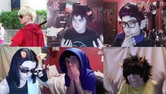Homestuck Cosplays 6/2013 by krazorspoon on DeviantArt