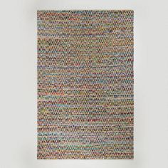 One of my favorite discoveries at WorldMarket.com: 6'x9' Chevron Reclaimed Cotton Chindi Rug