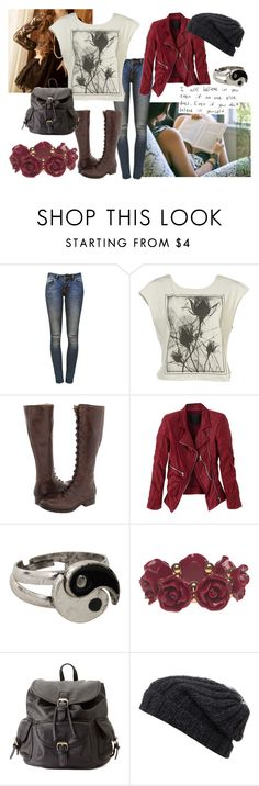 """""""Believe"""" by liv-bug ❤ liked on Polyvore featuring Anine Bing, Frye, MARC JACOBS, Wet Seal, Charlotte Russe, Grevi, women's clothing, women, female and woman"""