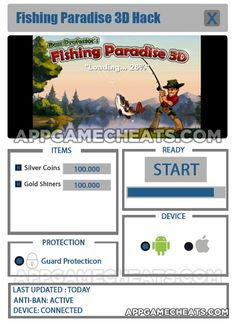 Fishing Paradise 3D Cheats, Hack, & Tips for Silver Coins & Gold Shiners  #FishingParadise3D #Simulation #Strategy http://appgamecheats.com/fishing-paradise-3d-cheats-hack-tips/