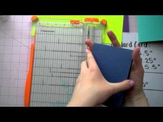 Cardmaking Basics - Card Measurements and Sizes (this is one of the few videos that discuss these card basics such as layering sizes. This is great for a beginner like myself.