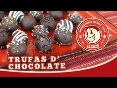 Trufas de Chocolate - El Guzii
