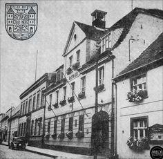 Rathaus in Dramburg vor 1945 - Pommern -