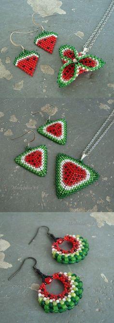 Watermelon DIY jewelry
