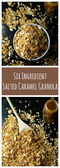 salted caramel granola                                                                                                                                                                                 More