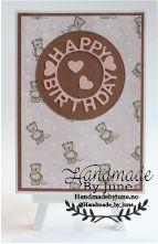 Happy birthday card made by HandmadebyJune.no Visit the website to buy. Happy Birthday Cards, Decorative Plates, Card Making, Website, Handmade, Stuff To Buy, Happy Birthday Greeting Cards, Hand Made, Handmade Cards