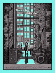 Movie Poster  Cinema Poster Design Breakfast at Tiffanys
