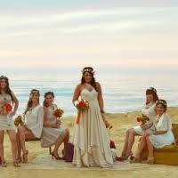 Image result for bohemian beach wedding dress