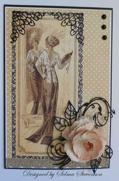 Graphic 45 Easel Card