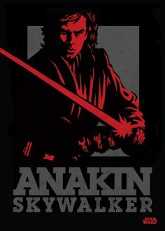 Star Wars Anakin metal poster - PosterPlate posters made out of metal