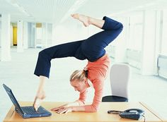 How to do pilates at your desk for a good stretch-Lynne Robinson writes about her top moves to get a good stretch while seated at your desk - so you can keep fit even at work.
