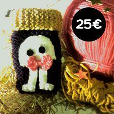 Pichette portable en tricot