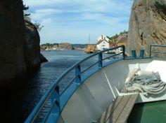 Olavsundet, er en del av øygruppen og uthavnen Ny-Hellesund