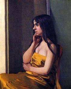 Felix Vallotton - The Yellow Sheet