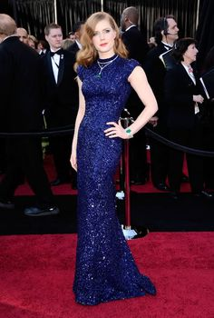 Amy Adams at the Oscars (in L'Wren Scott, from the Autumn 2011 collection).