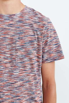Native Youth Tri-Color Spacedye Tee - Urban Outfitters