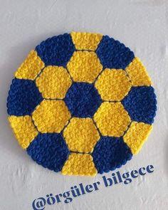I hope you like our top fiber begenirsiniz⚽️⚽️⚽️ love @ orgu . Crochet Girls Dress Pattern, Crochet Patterns, Puff Stitch Crochet, Knit Crochet, Crochet Tablecloth, Crochet Doilies, Hand Work Design, Fru Fru, Hand Work Embroidery