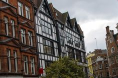old buildings in London, England
