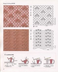 SOLO PUNTOS: Crochet puntos calados.....lots and lots of different stitches at this site