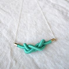 Love this knot necklace