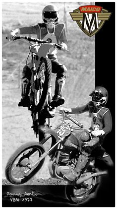 Vintage Bikes, Vintage Motorcycles, Cars And Motorcycles, Vintage Motocross, Dirt Bikes, Bike Stuff, Boats, Happiness, Racing