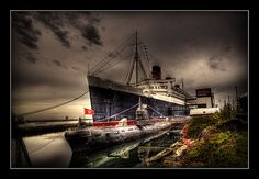 RMS Queen Mary. One of the most haunted places in the world. And, it's a ship!