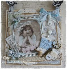 Tina's Creative Blog***Moms sewing room***Card***1-27-14