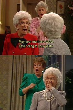I love the Golden Girls so much.