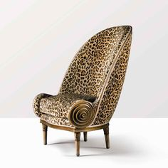 IRIBE - Fauteuil Nautile - 1913 -Vente Marcillhac Sotheby's (ART DECO)