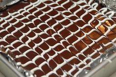 QUADRUPLE LAYER CHOCOLATE CHEESECAKE KIT KAT BARS