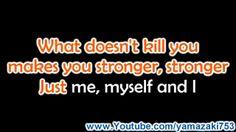 Kelly Clarkson - Stronger (What Doesn't Kill You) - Karaoke