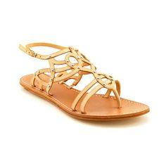 #hot Belle by Sigerson Morrison Women's Roma Sandal,Tortora,6 M US