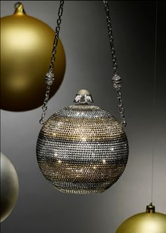Judith Leiber Noel Ornament Clutch