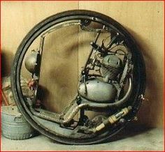 The Original McLean Monocycle