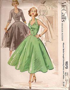 Evening dress by McCalls ©1952
