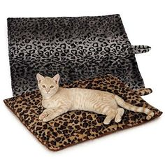 Quality Thermal Self Heating Cat Mat, Reversible Washable Mat >>> Wow! I love this. Check it out now! : Cat Beds and Furniture