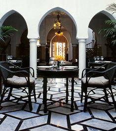 Our first stop after checking into Hotel Sofitel Casablanca Tour Blanche.